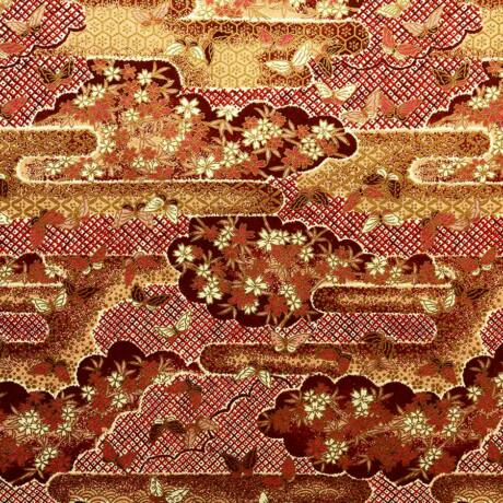 Yuzen (Chiogami) Washi papír 63x94cm - 5708