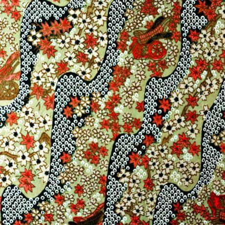 Yuzen (Chiogami) Washi papír 63x94cm - 5709