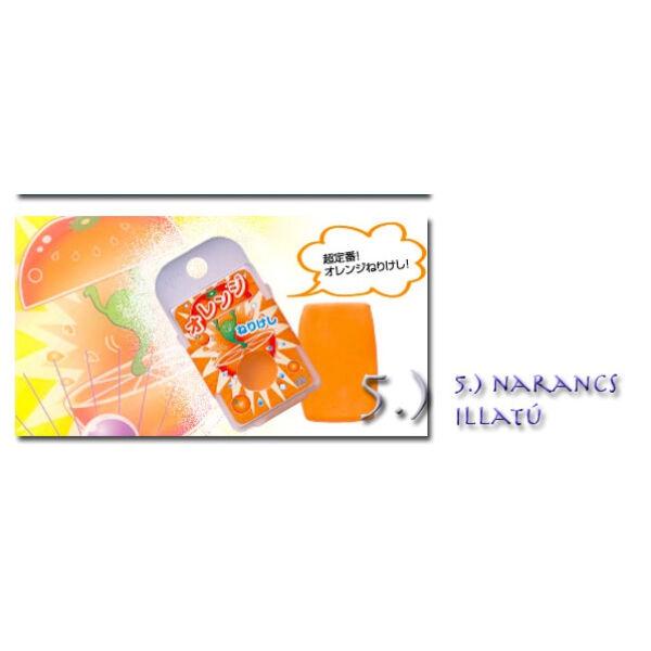 Gyúrható radír EK-100 Seed - Narancs